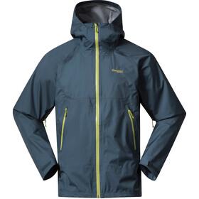 Bergans Letto V2 3-Layer Jacket Men orion blue/green oasis